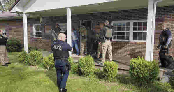 Man barricades inside home afterreported assault