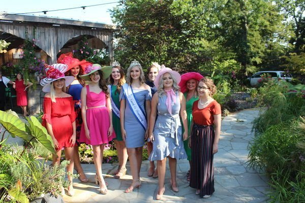 Miss, Teen contestants attend Tea Party