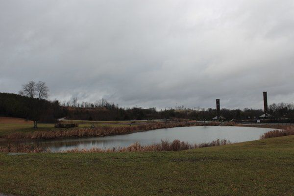 SCC pond restored, road open