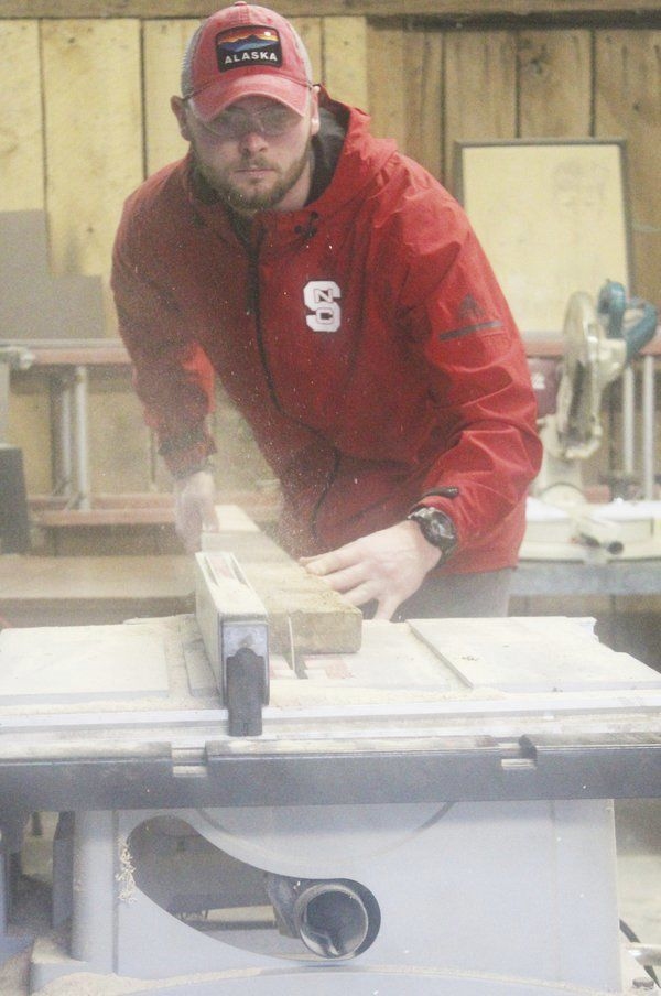 Woodworking has become a passion for Wigginton