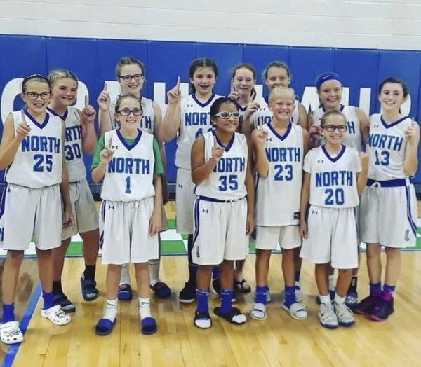 PERFECT ENDING: <span>North Laurel eighth-grade girls basketball players finish three-year middle school run with unblemished 65-0 mark</span>