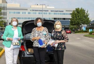 Saint Joseph Hospital volunteers donate 250 masks donated to Laurel County School District for students