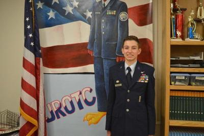 Local Air Force JROTC student earns wings