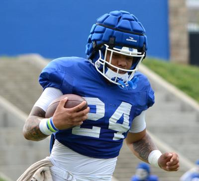 Kentucky running back Chris Rodriguez has high expectations going into this season. (Keith Taylor/Kentucky Today)