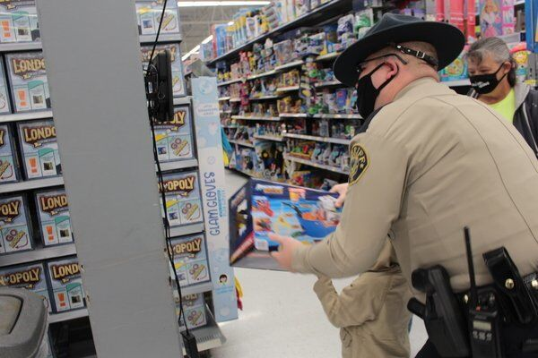 Over 200 kids get to 'Shop with a Cop'