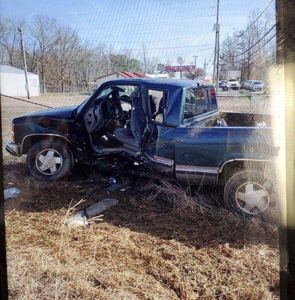 Five injured in Sunday crash