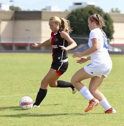 Lady Cards drop 3-2 decision to John Central