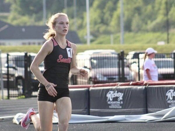 LADY CARDS TAKE FLIGHT:<span>Phoebe McCowan's three first-place efforts highlight South Laurel's team win in Williamsburg All-Comers Meet; North Laurel places second in boys'division</span>
