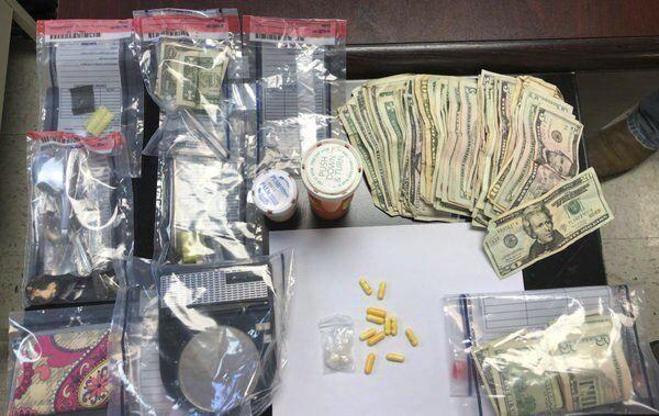 Cash, meth and marijuana found in drug investigation