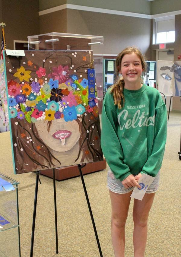 Local artists recognized at CVNB, library art show