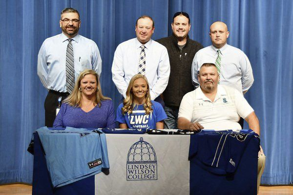 North Laurel's Gregory signs on to Lindsey Wilson College Softball