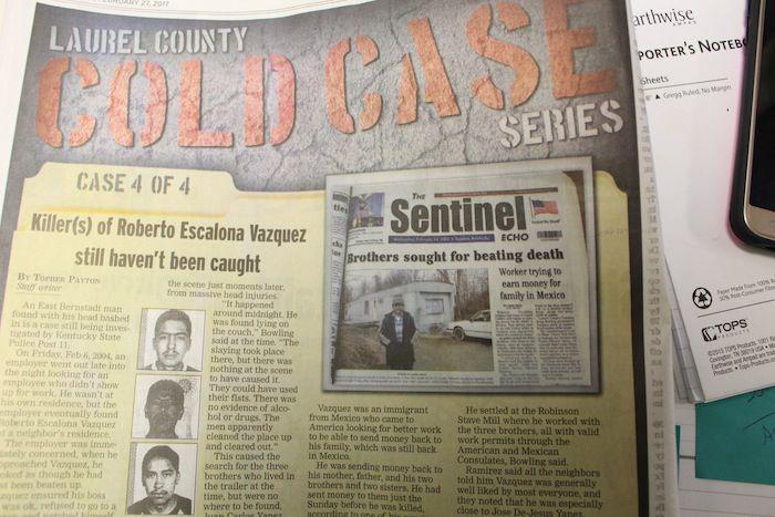 LAUREL COUNTY COLD CASE: Killer(s) of Roberto Escalona