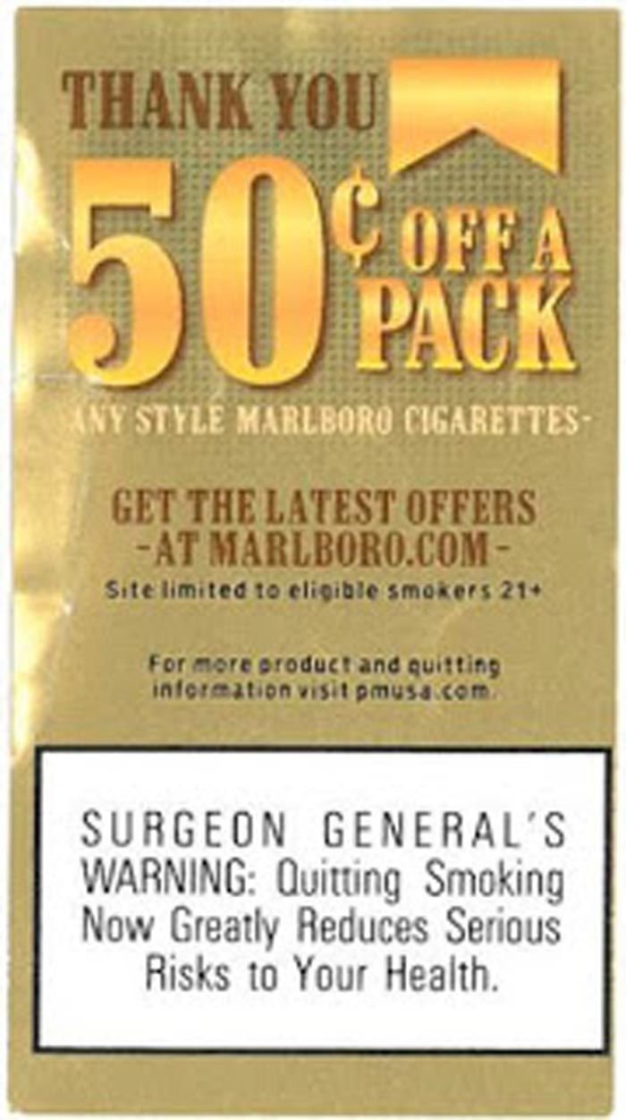 photograph about Printable Coupons for Marlboro Cigarettes titled Marlboro Coupon Guide