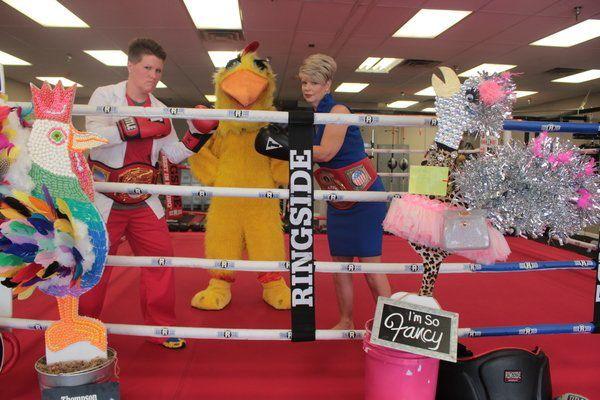 Chicken Invasion votes fund local Backpack Program