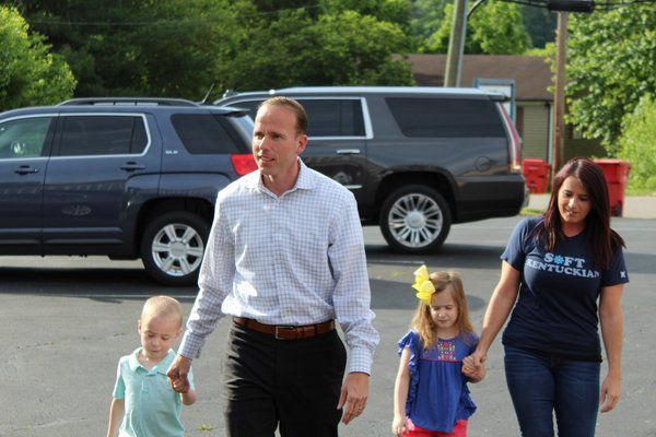 Goforth — first Laurel Countian to run for governor — casts ballot