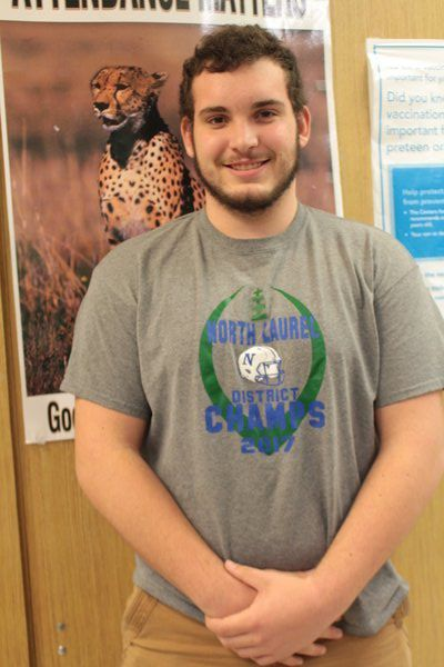 STUDENT PROFILE: Johnson seeing the positive side of life