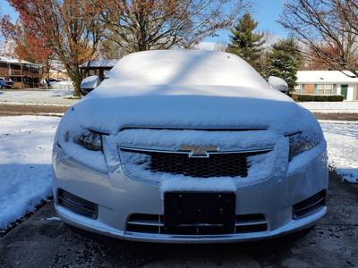 Car with snow
