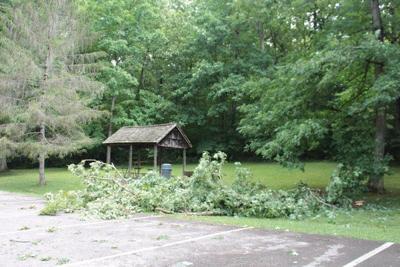 storm leaves damage across Laurel County