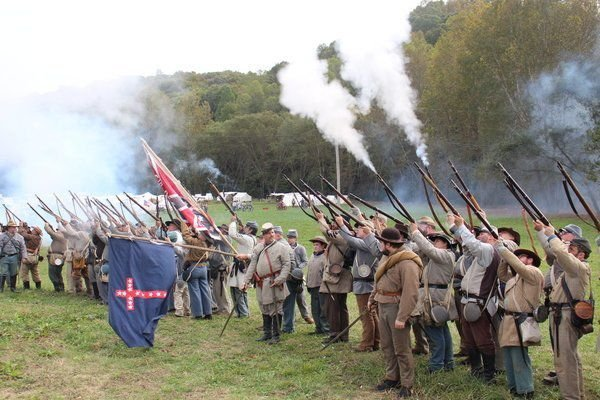 LIVING HISTORY: Battle of Camp Wildcat re-created