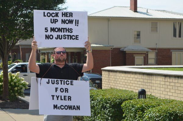 Manprotesting for justice for cousin who was fatally shot