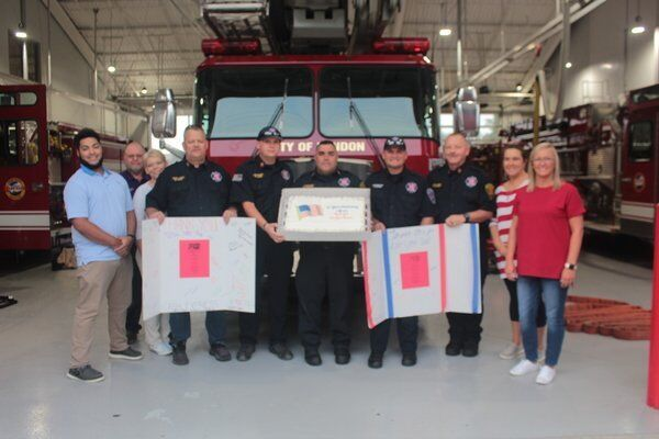 Cash Express recognizes first responders