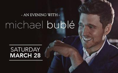 Michael Bublé coming to Louisville
