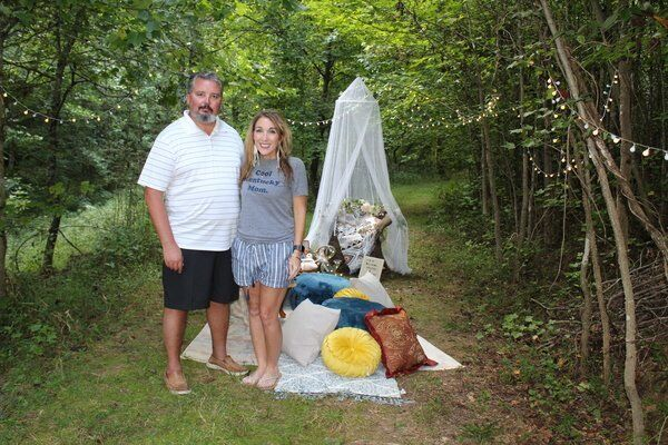Swanner family opens business in own backyard for pop-up picnics