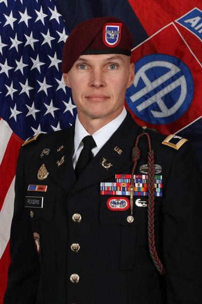 Colonel Rogers graduates with master's degree