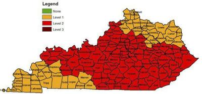 Drought declarations issued throughout Kentucky