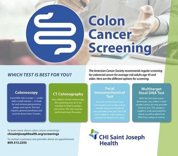 Saint Joseph London Encouraging Colon Cancer Screenings Ahead Of Colon Cancer Awareness Month Local News Sentinel Echo Com