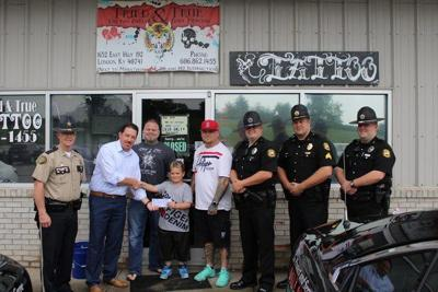 Tried& True donates to Shop with a Cop