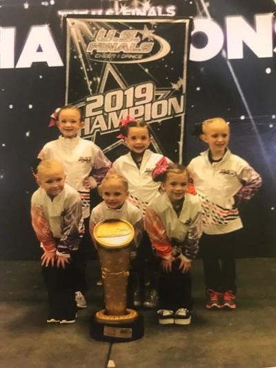 Dance team takes first in U.S. Finals