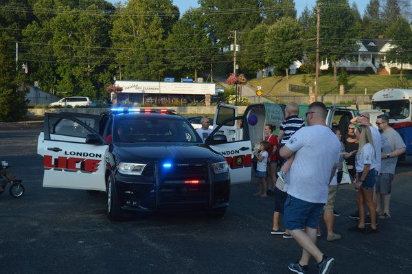 Local law enforcement host a night of friends, family and fun