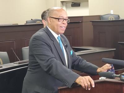 Sen. Reginald Thomas will be proposing a bill to increase the minimum wage in Kentucky. (Kentucky Today/Tom Latek)