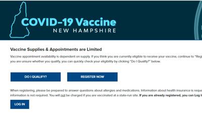 Vaccination website