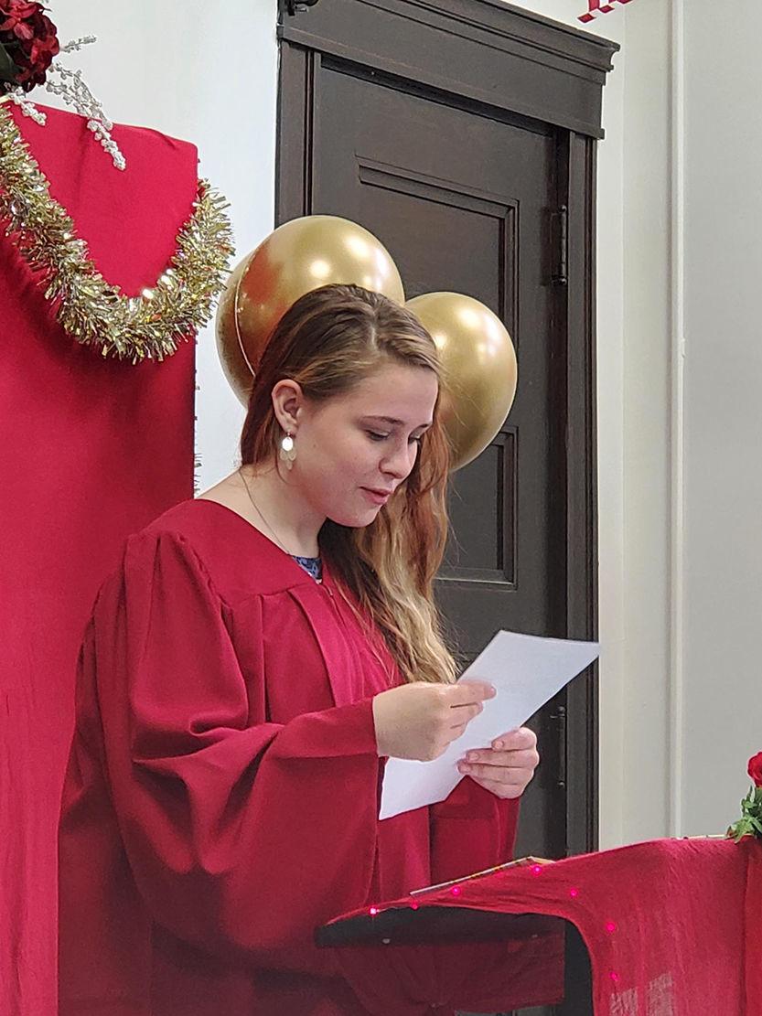 Inaugural graduate