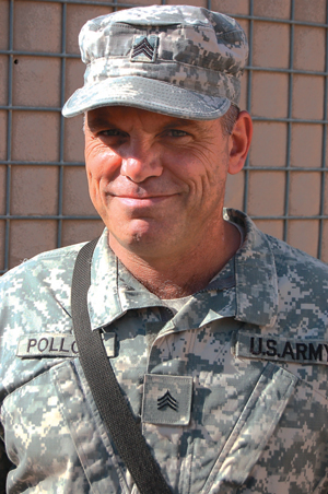 CASEY FARRAR REPORTS FROM IRAQ: LIKE FATHER, LIKE SON