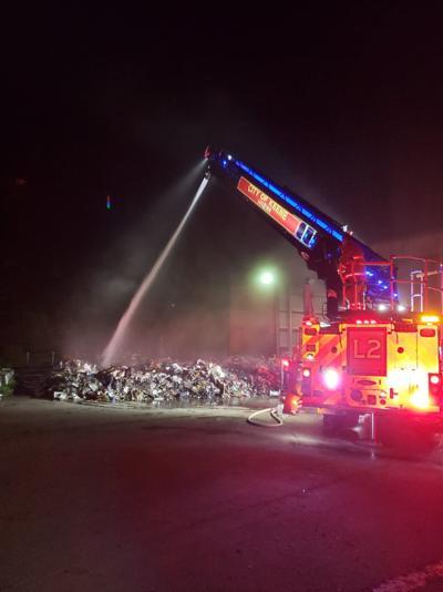 Keene transfer station fire