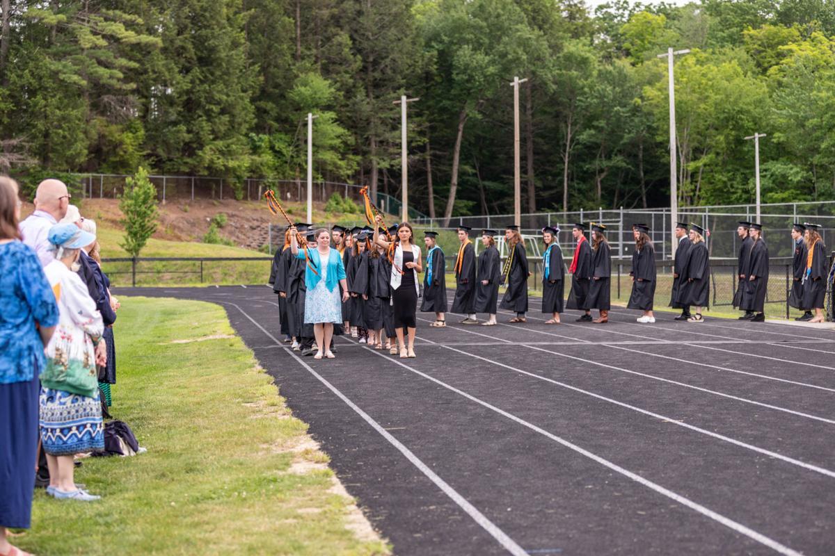 Photos from Conant High's graduation