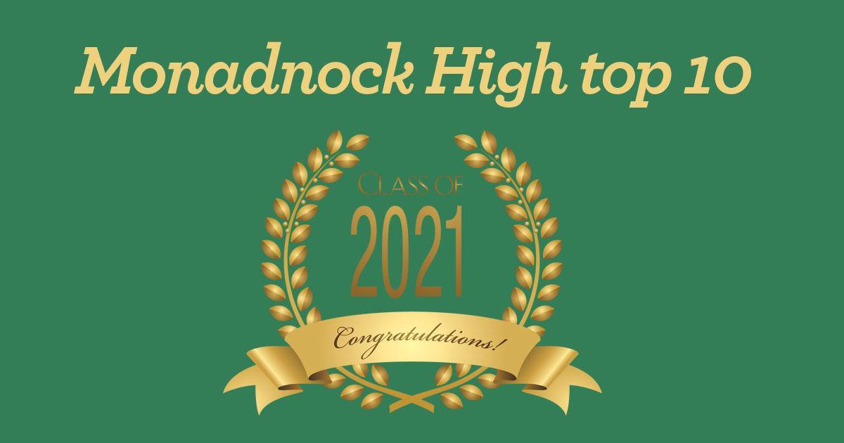 Monadnock top 10 2021