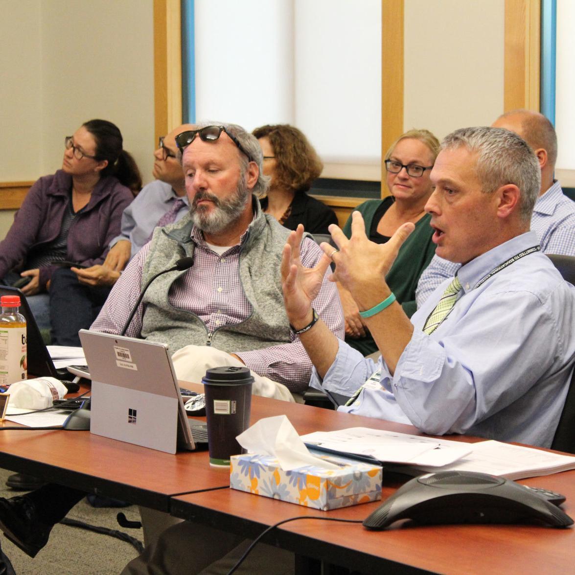 Public, Keene committee swap views on competency-based education