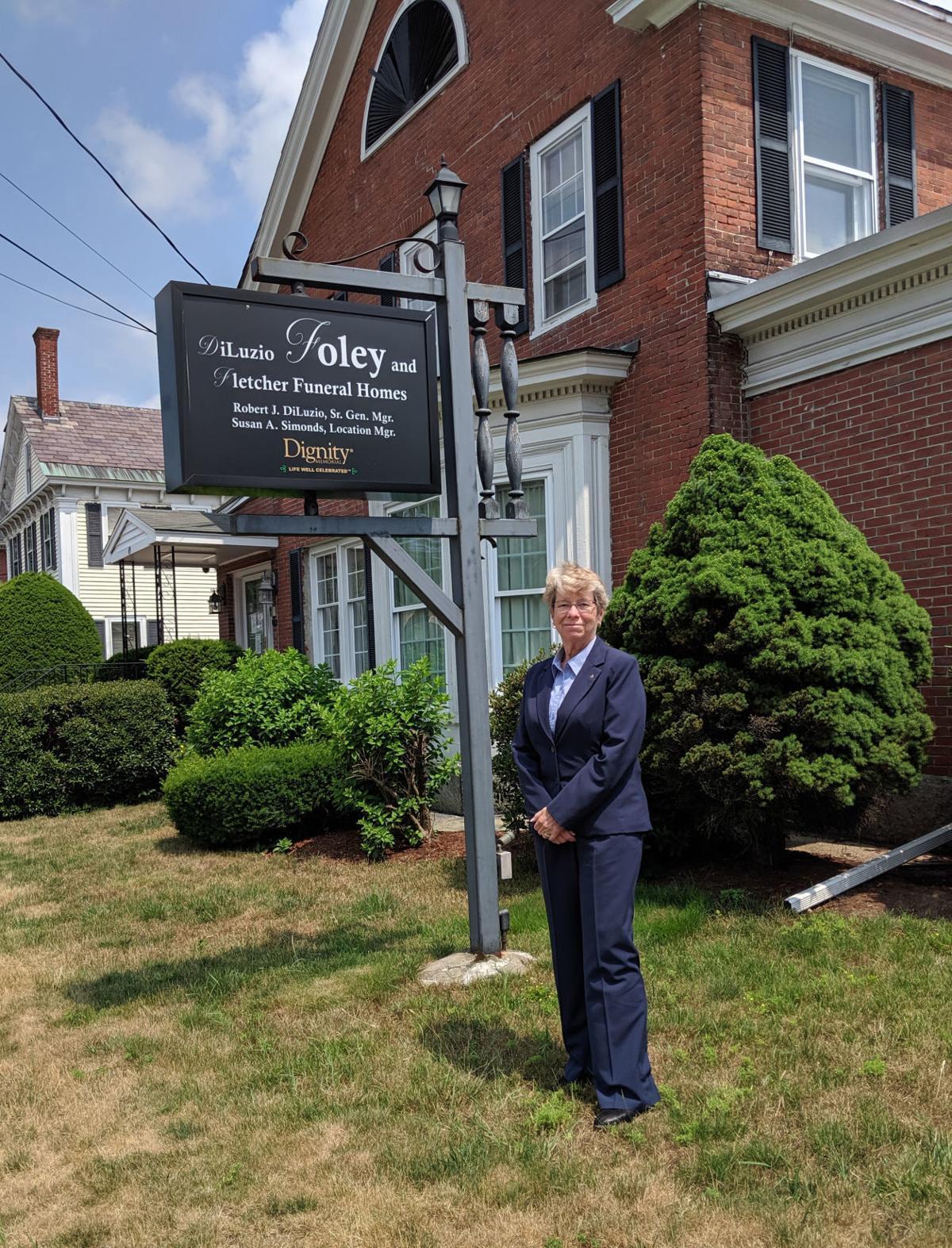 Outside Foley Funeral Home