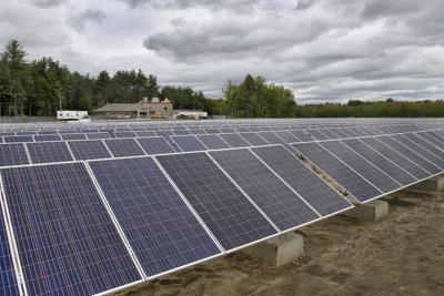 Solar array in Peterborough