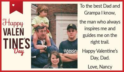 To Dad, Love Nancy