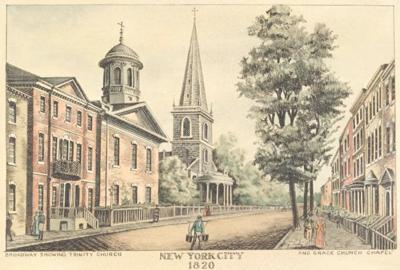 New York City 1820