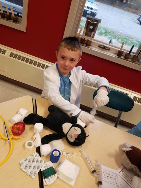 'Monadnock Doll Hospital' brings hands-on health education to Jaffrey library