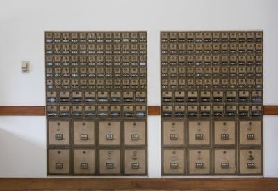 PO boxes