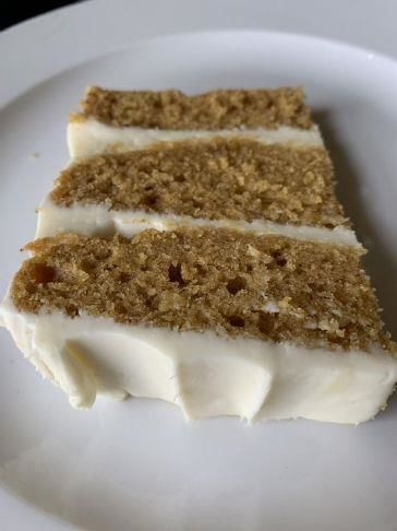 In-season Recipes Three-Layer Pumpkin Spice Cake