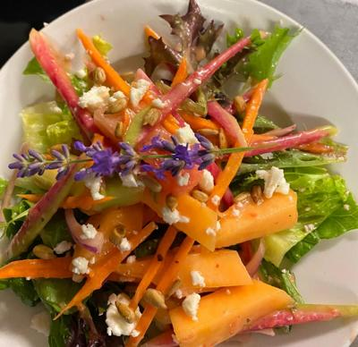 Savory & Sweet Summer Salad from Pickity Place!