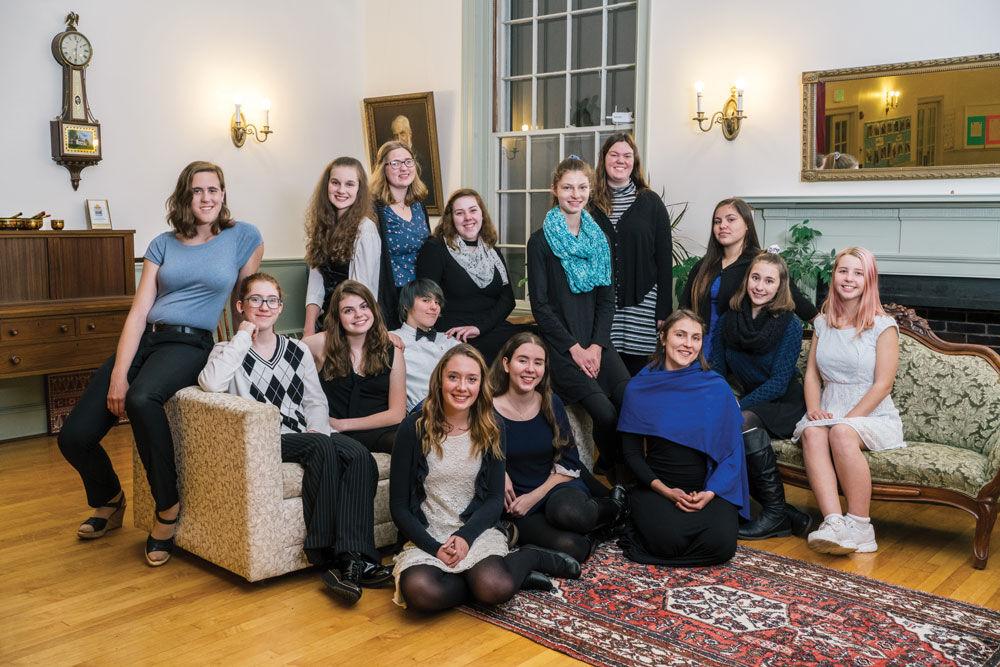 Grand Monadnock Youth Choirs' Cecilia Ensemble